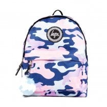 Hype Blue Pink Evie Camo Backpack BTS19018