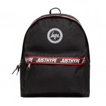 Hype Black Red Taping Backpack