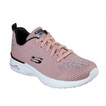 Skechers Womens Skech-Air Dynamite Mesh Sneakers - Rose