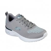 Skechers Womens Skech-Air Dynamite Mesh Sneakers - Grey