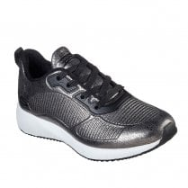 Skechers Womens Lace Up Sneakers - 33155 Grey Pewter