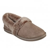 Skechers Womens Cozy Campfire Team Toasty Slippers - Dark Taupe