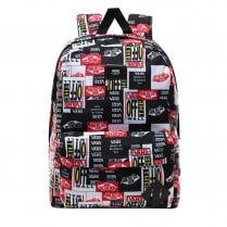 Vans Old Skool Printed 22L Backpack - Black/Red/White