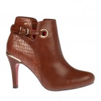 Kate Appleby Alport Stiletto Ankle Boots - Tan