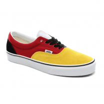 Vans Kids OTW Rally Era Trainers Shoes - Black/Red/Yellow