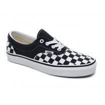 Vans Kids Checkerboard Era Trainers Shoes - Navy