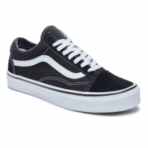 Vans Old Skool Canvas Trainers - Black