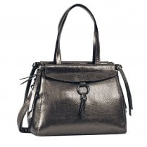 Gabor Ladies Francesca Shopper Bag 8365 - Old Silver