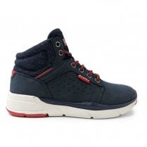 Levi's Kids Aspen Navy Hi Top Boots