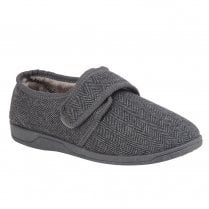 Lotus Mens William Tweed Full Shoe Slippers