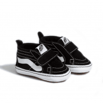 Vans Black Infant Sk8-Hi Crib Velcro Shoes