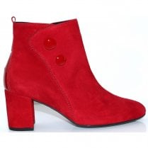 Gabor Womens Block Heleed Ankle Boots - Rubin 35.802.15