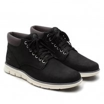 Timberland Mens Bradstreet Leather Chukka Black Nubuck Boots