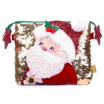 Irregular Choice Christmas Collection The Kringles Bag - Multi Gold Red