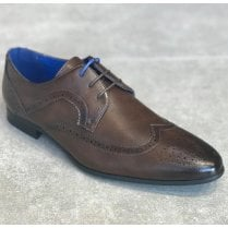 Marcozzi Berlin Mens Brown Laced Brogue Shoes