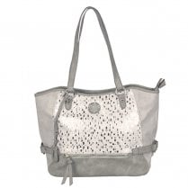 Rieker H1066-82 Medium Handbag - Grey