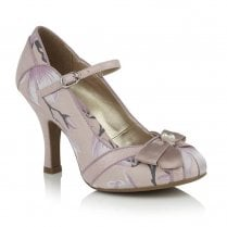 Ruby Shoo Cleo Pink High Heel Court Shoes - 09270