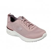 Skechers Womens Air Dynamight Fast Rose Mesh Sneakers