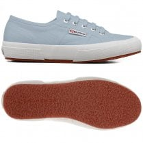 Superga Womens Cotu Classic Blue Pure Cotton Low Trainers