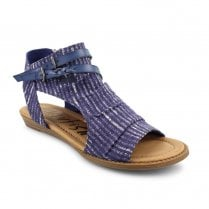 Blowfish Womens Bluemoon Open Toe Ankle Sandals - Blue