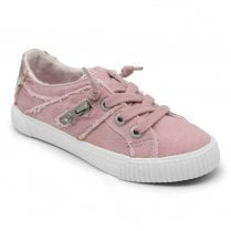 Blowfish Womens Fruit Canvas Sneakers - Dirty Pink