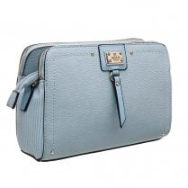 Bessie London Womens Blue 2 Tone Colours Crossbody Bag - BW4278