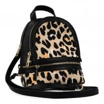 Menbur Animal Print Backpack