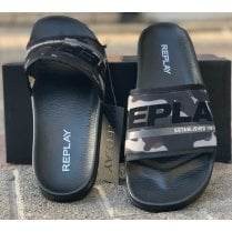 Replay Mens Camouflage Slides