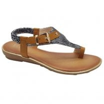 Redz Womens Toe Loop Sandal
