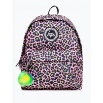 Hype Rainbow Leopard backpack 18 litres