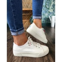 S.Oliver Chunky Sole Trainer - White