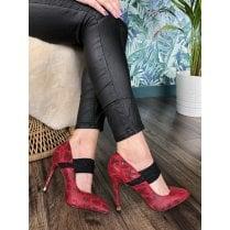 Kate Appleby Ferryhill Stiletto's - Poppy Red