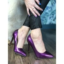 Kate Appleby Alford Stiletto's - Damson Purple