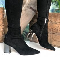 Una Healy This Is Living Black Ankle Boots