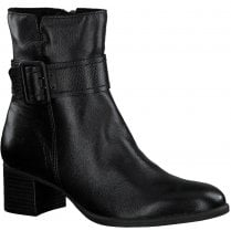 Marco Tozzi Ladies Black Ankle boots