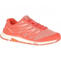 Merrell Womens Mesh Bare Access XTR Trail Runner Sneakers - Goldfish Orange