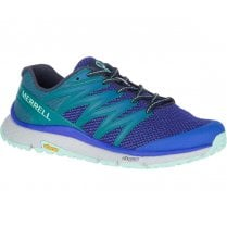 Merrell Womens Mesh Bare Access XTR Trail Sneakers - Dazzle Navy