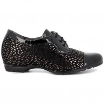 Pitillos Concealed Wedge Lace Up Shoe