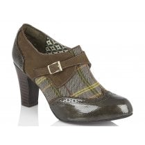 Ruby Shoo Tamsin Olive High Heels-09352