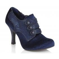Ruby Shoo Octavia Ladies Blue High Heels