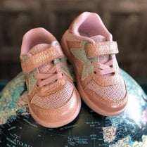 Lelli Kelly Girls Crystal Rosa Infant Trainers