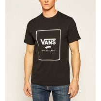 Vans Mens Print Box Black T-Shirt