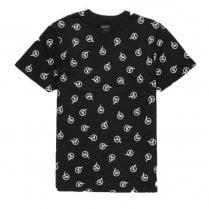 Vans Mens Dimensions AOP Black T-Shirt