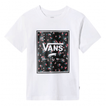 Vans Womens Boxed In White Crew T-Shirt