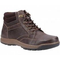 Hush Puppies Grover Brown Lace Up Boots