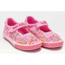 Lelli Kelly Dorothy Pink Velcro Strap Shoe
