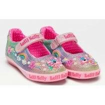 Lelli Kelly Treasure Multicolour Velcro Strap Shoes