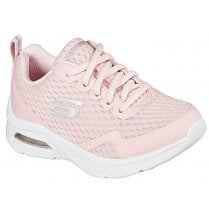 Skechers Girls Microspec Max Machine Washable Baby Pink Trainers