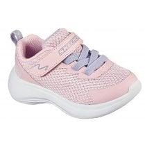 Skechers Infant Selectors Jammin' Jogger Machine Washable Light Pink Trainers