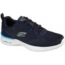 Skechers Mens Skech-Air Dynamight Navy Machine Washable Trainers